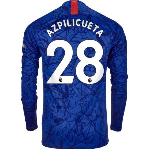 2019/20 Nike Cesar Azpilicueta Chelsea L/S Home Jersey