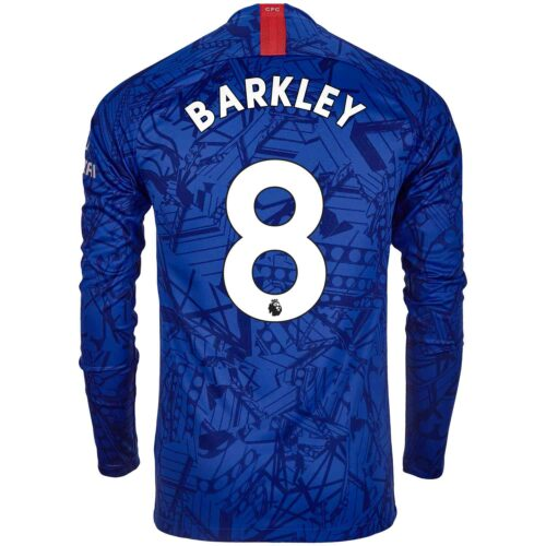 2019/20 Nike Ross Barkley Chelsea L/S Home Jersey