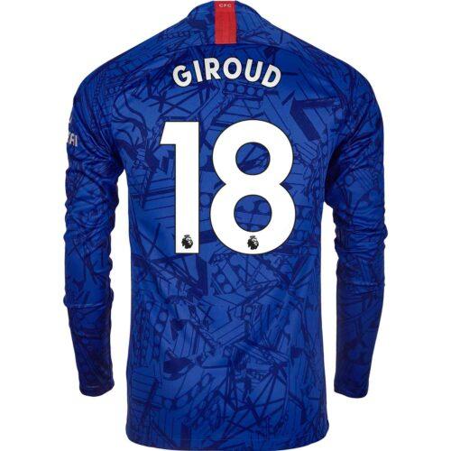 2019/20 Nike Olivier Giroud Chelsea L/S Home Jersey