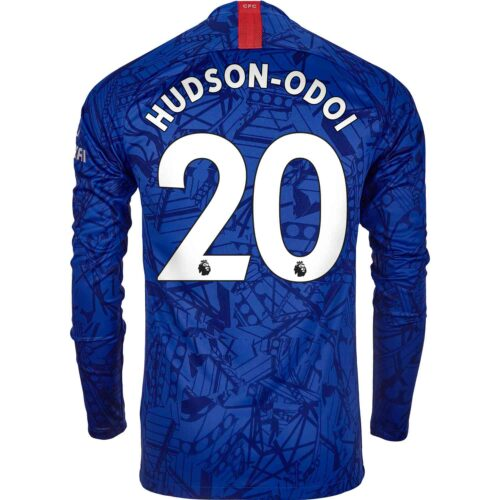 2019/20 Nike Callum Hudson-Odoi Chelsea L/S Home Jersey