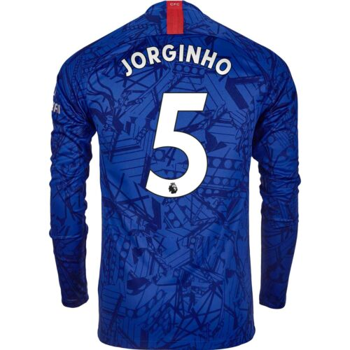 2019/20 Nike Jorginho Chelsea L/S Home Jersey