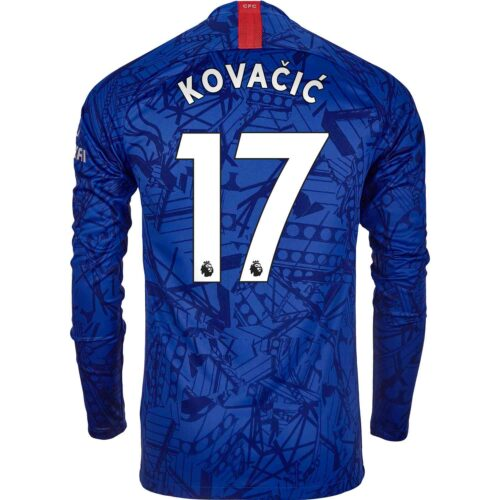 2019/20 Nike Mateo Kovacic Chelsea L/S Home Jersey