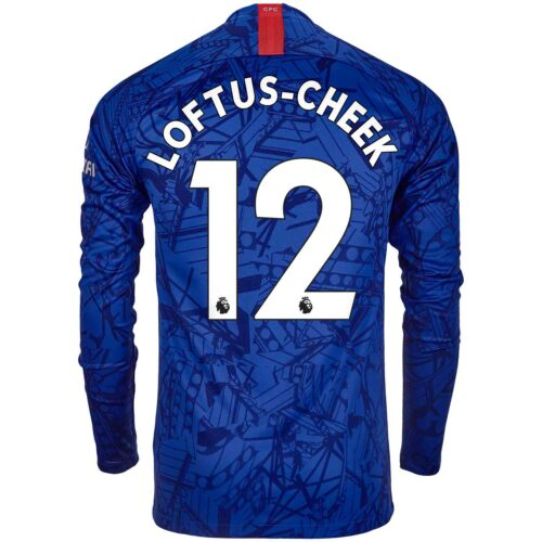 2019/20 Nike Ruben Loftus-Cheek Chelsea L/S Home Jersey