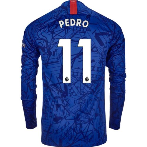 2019/20 Nike Pedro Chelsea L/S Home Jersey