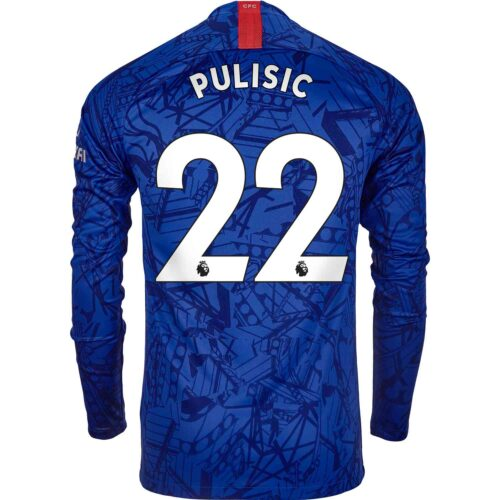 2019/20 Nike Christian Pulisic Chelsea L/S Home Jersey