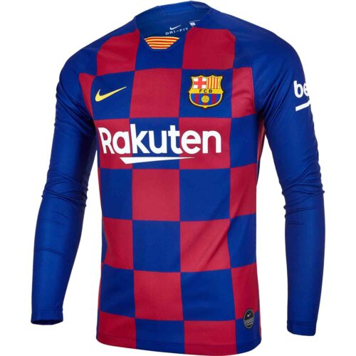 2019/20 Nike Barcelona L/S Home Jersey