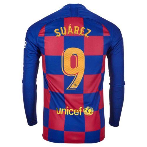 2019/20 Nike Luis Suarez Barcelona L/S Home Jersey