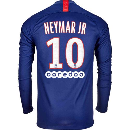 2019/20 Nike Neymar Jr PSG L/S Home Jersey