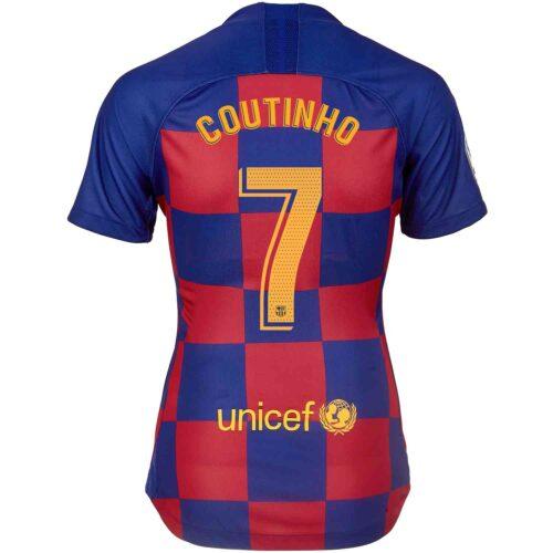 2019/20 Womens Nike Philippe Coutinho Barcelona Home Jersey