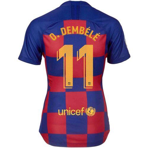 2019/20 Womens Nike Ousmane Dembele Barcelona Home Jersey