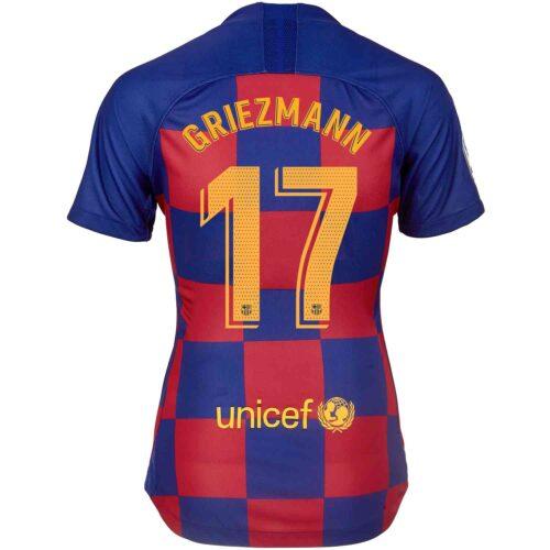2019/20 Womens Nike Antoine Griezmann Barcelona Home Jersey