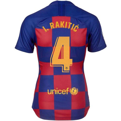 2019/20 Womens Nike Ivan Rakitic Barcelona Home Jersey