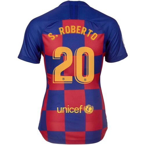 2019/20 Womens Nike Sergi Roberto Barcelona Home Jersey