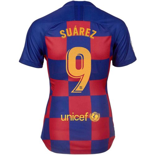 2019/20 Womens Nike Luis Suarez Barcelona Home Jersey