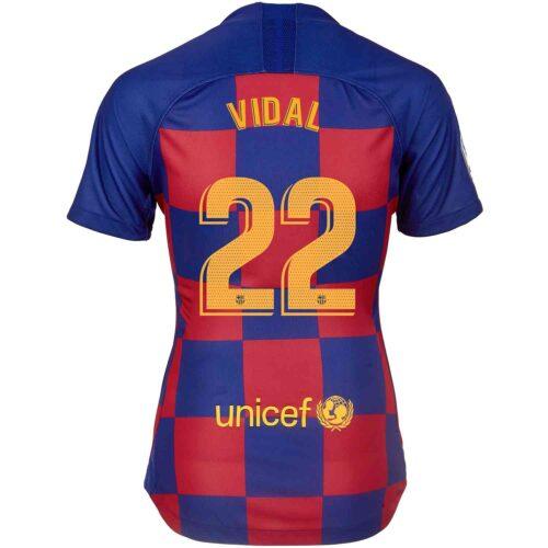 2019/20 Womens Nike Arturo Vidal Barcelona Home Jersey