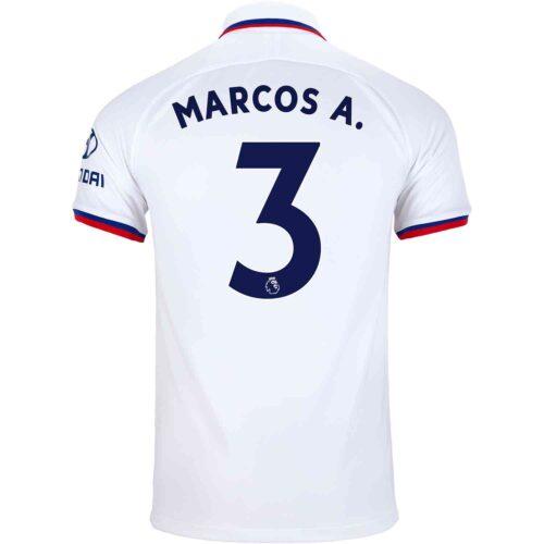 2019/20 Kids Nike Marcos Alonso Chelsea Away Jersey