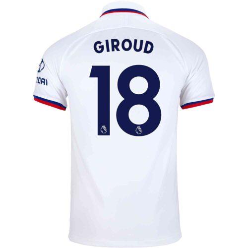 2019/20 Kids Nike Olivier Giroud Chelsea Away Jersey