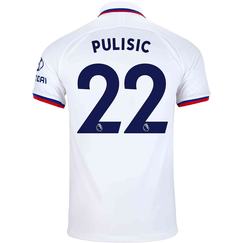 on sale ba696 15229 2019/20 Kids Nike Christian Pulisic Chelsea Away Jersey ...