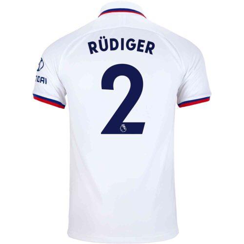2019/20 Kids Nike Antonio Rudiger Chelsea Away Jersey