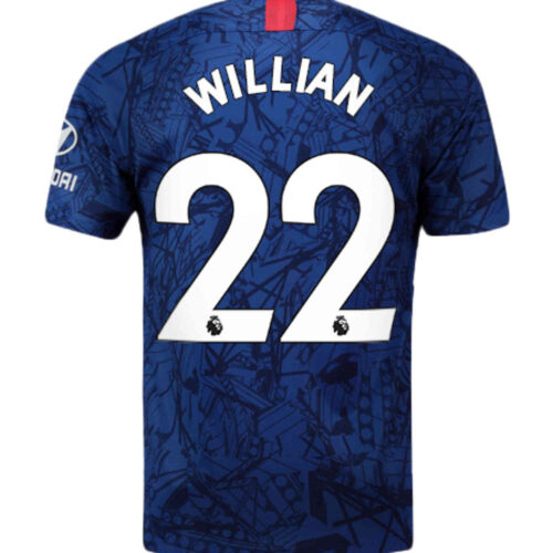 2019/20 Kids Nike Willian Chelsea Home Jersey