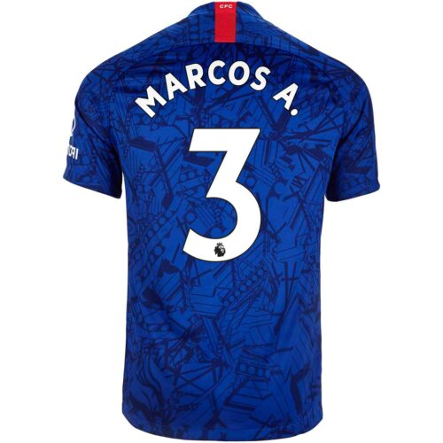 2019/20 Kids Nike Marcos Alonso Chelsea Home Jersey