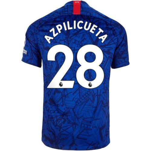 2019/20 Kids Nike Cesar Azpilicueta Chelsea Home Jersey