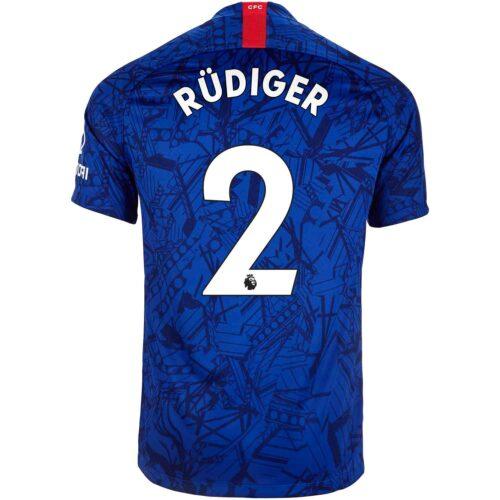2019/20 Kids Nike Antonio Rudiger Chelsea Home Jersey