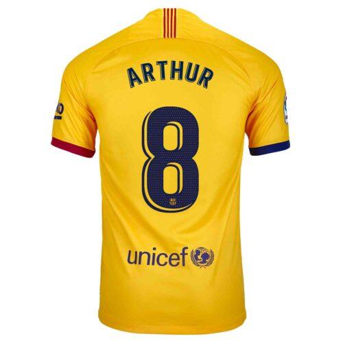 2019/20 Kids Nike Arthur Barcelona Away Jersey