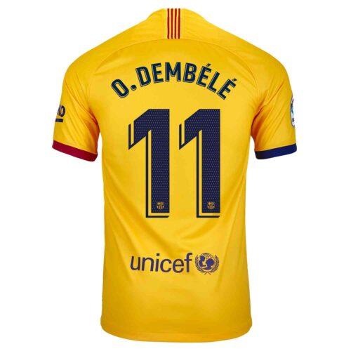 2019/20 Kids Nike Ousmane Dembele Barcelona Away Jersey