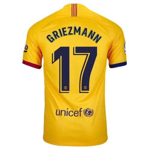 2019/20 Kids Nike Antoine Griezmann Barcelona Away Jersey
