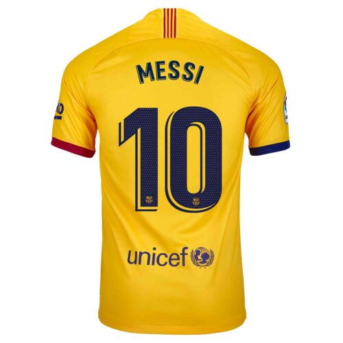 2019/20 Kids Nike Lionel Messi Barcelona Away Jersey