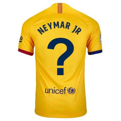 2019/20 Kids Nike Neymar Jr Barcelona Away Jersey