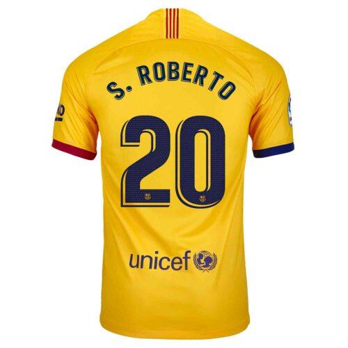 2019/20 Kids Nike Sergi Roberto Barcelona Away Jersey