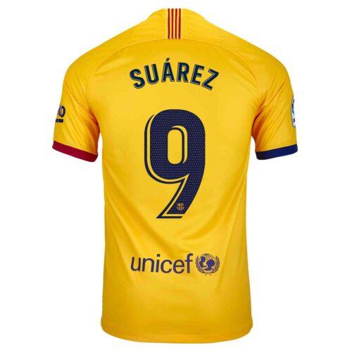 2019/20 Kids Nike Luis Suarez Barcelona Away Jersey