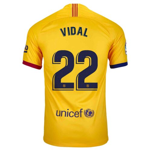 2019/20 Kids Nike Arturo Vidal Barcelona Away Jersey