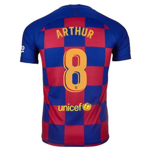 2019/20 Kids Nike Arthur Barcelona Home Jersey