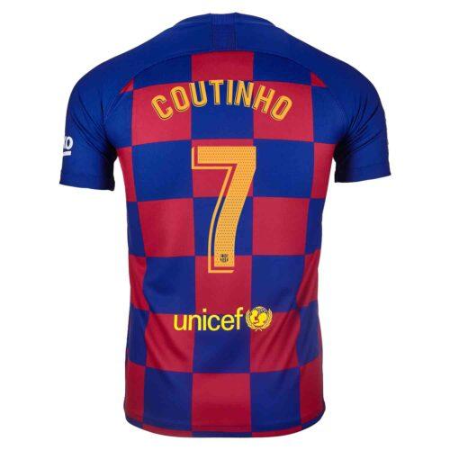 2019/20 Kids Nike Philippe Coutinho Barcelona Home Jersey