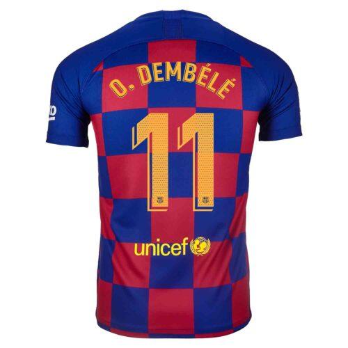 2019/20 Kids Nike Ousmane Dembele Barcelona Home Jersey
