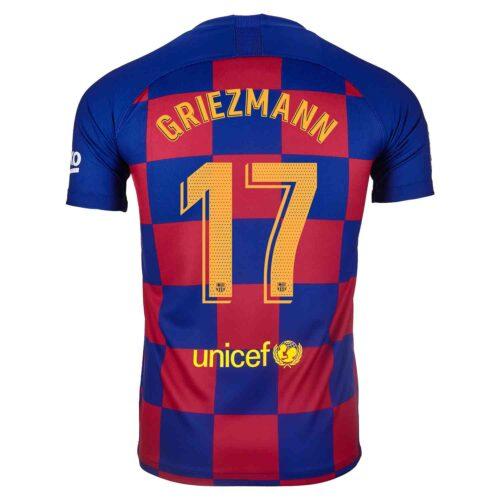2019/20 Kids Nike Antoine Griezmann Barcelona Home Jersey