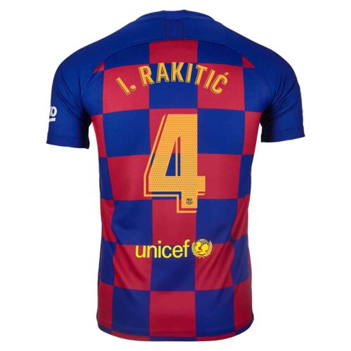 2019/20 Kids Nike Ivan Rakitic Barcelona Home Jersey