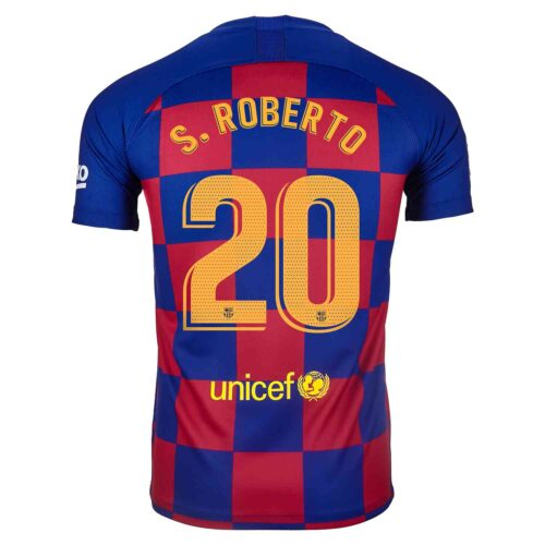 2019/20 Kids Nike Sergi Roberto Barcelona Home Jersey