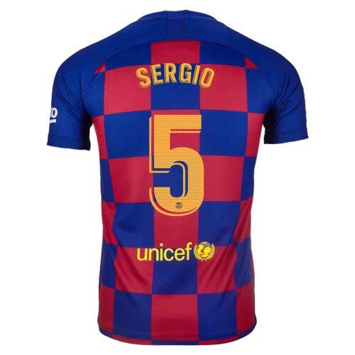 2019/20 Kids Nike Sergio Busquets Barcelona Home Jersey