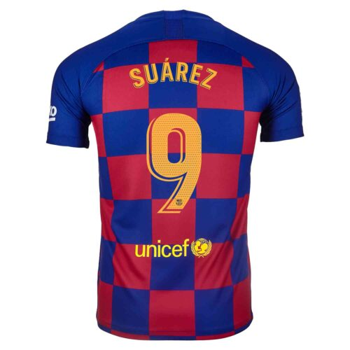 2019/20 Kids Nike Luis Suarez Barcelona Home Jersey