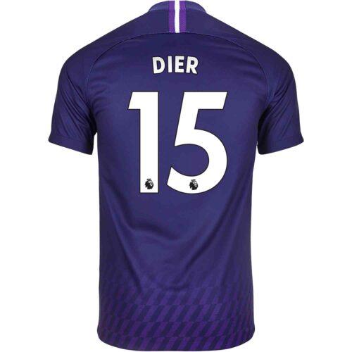 2019/20 Kids Nike Eric Dier Tottenham Away Jersey