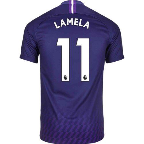2019/20 Kids Nike Erik Lamela Tottenham Away Jersey