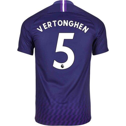 2019/20 Kids Nike Jan Vertonghen Tottenham Away Jersey