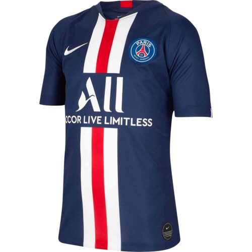 2019/20 Kids Nike PSG Home Jersey