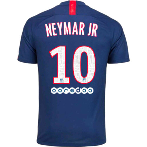 2019/20 Kids Nike Neymar Jr PSG Home Jersey