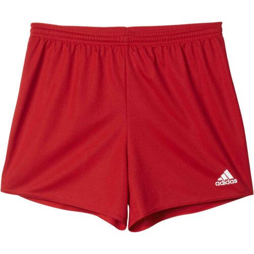 Womens adidas Parma 16 Shorts – Power Red