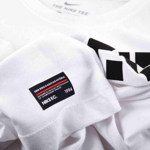 Nike FC 8-Bit L/S Tee – White